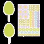 Топър за кекс - Великденски яйца