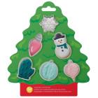Комплект резци Wilton - Коледа асорти
