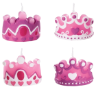 Комплект свещи - кралски корони