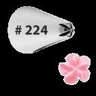 Метален накрайник за пош - 224