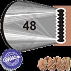 Метален накрайник за пош - 48